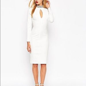 ASOS Long Sleeve Embellished Collar Dresses